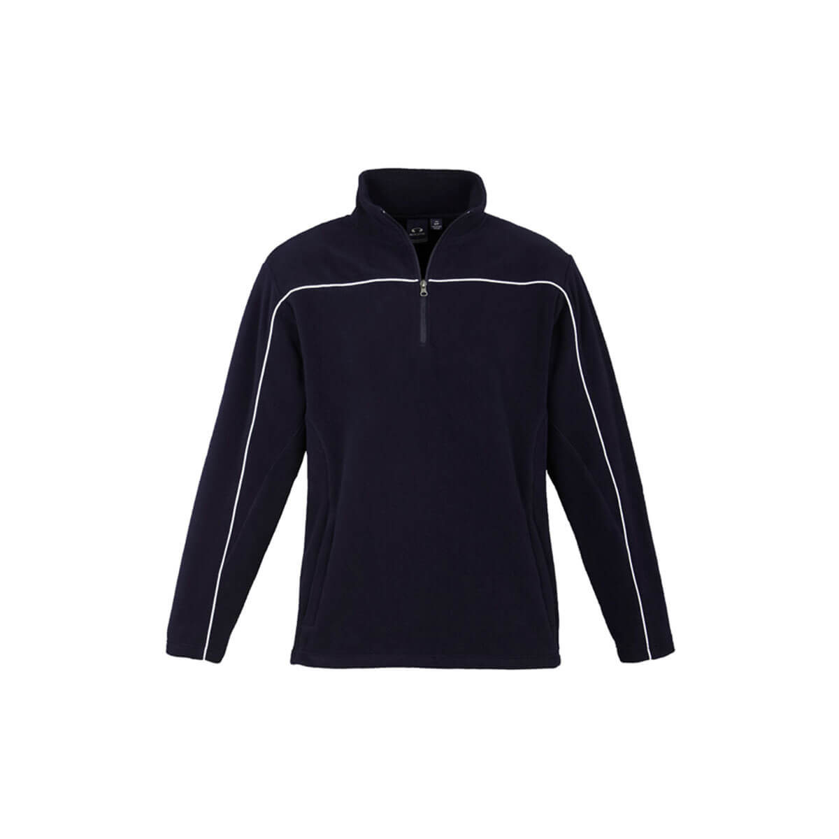 Mens Core Micro Fleece-Navy / White