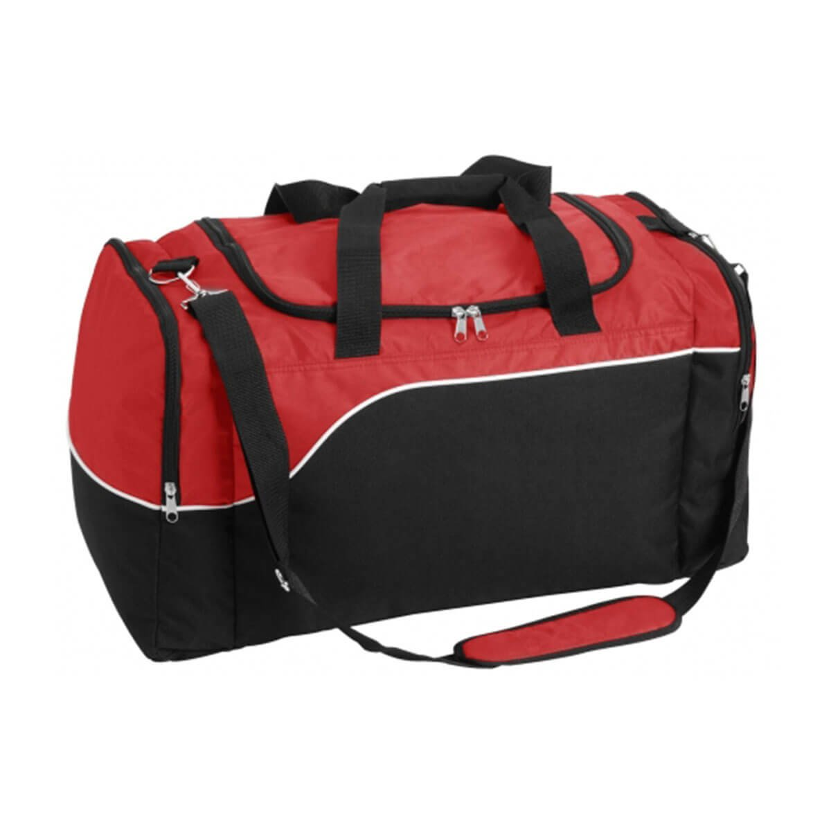 Align Sports Bag-Red / White / Black