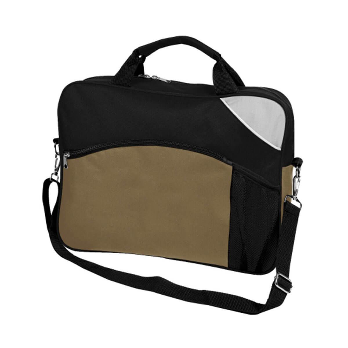 Churchill Sports Bag-Black / Khaki