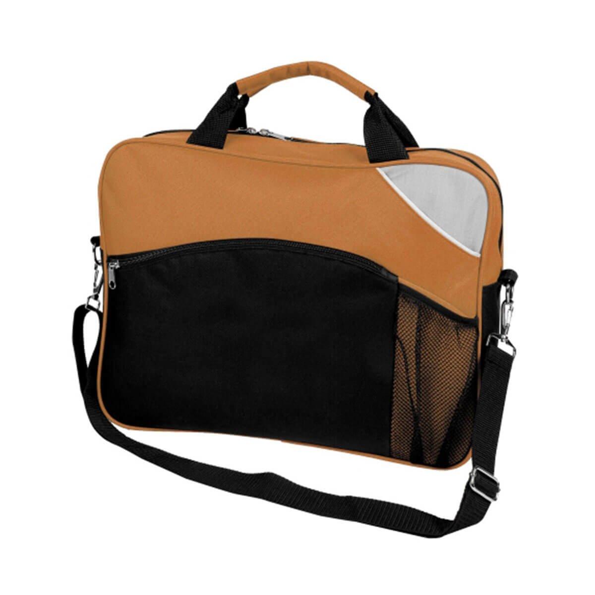 Churchill Sports Bag-Rust / Black