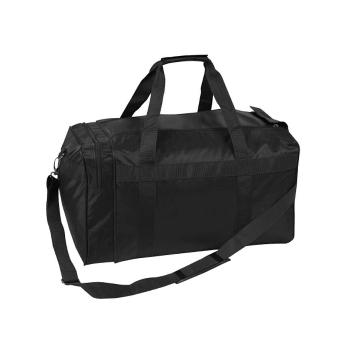 Nylon Sports Bag-Black