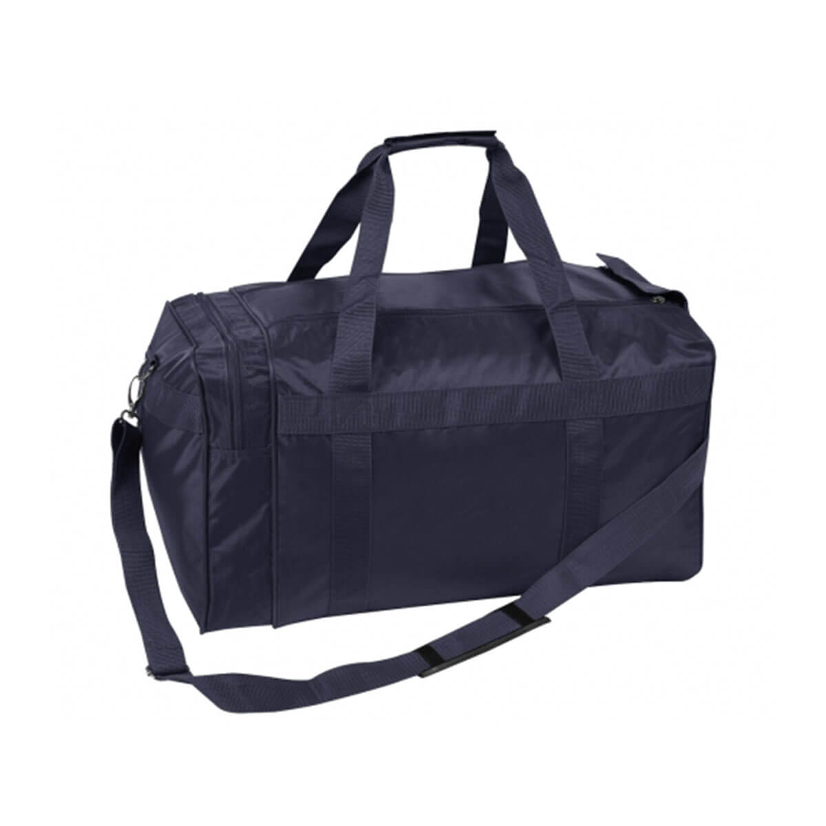 Nylon Sports Bag-Navy