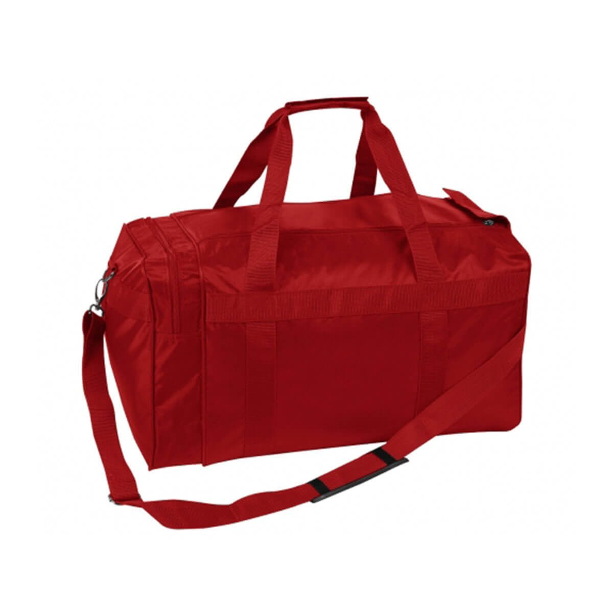Nylon Sports Bag-Red