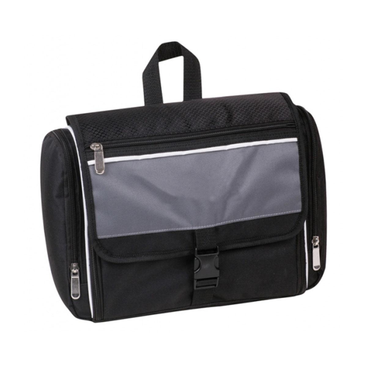 Toiletry Bag-Black / White / Charcoal