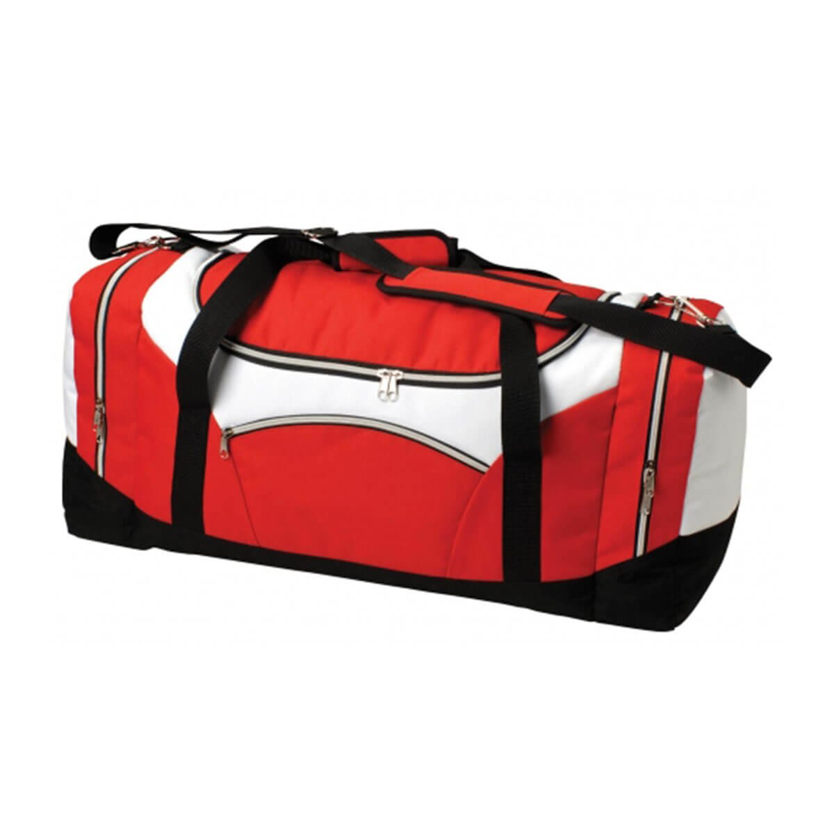 Stellar Sports Bag-Red / White