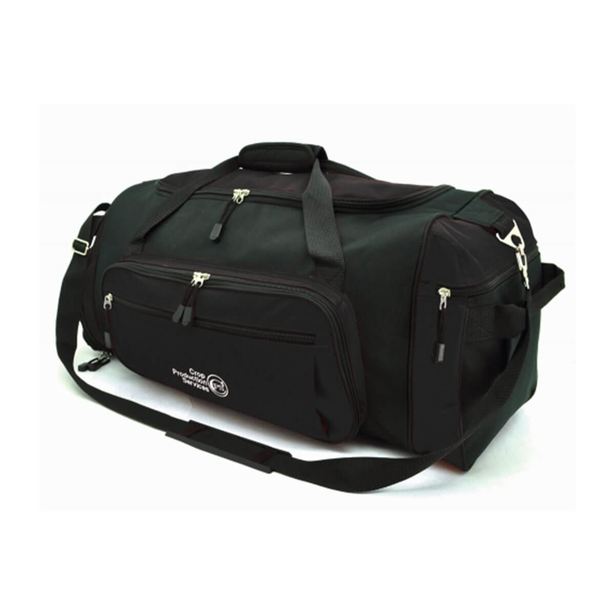 Soho Sports Bag-Black / Black