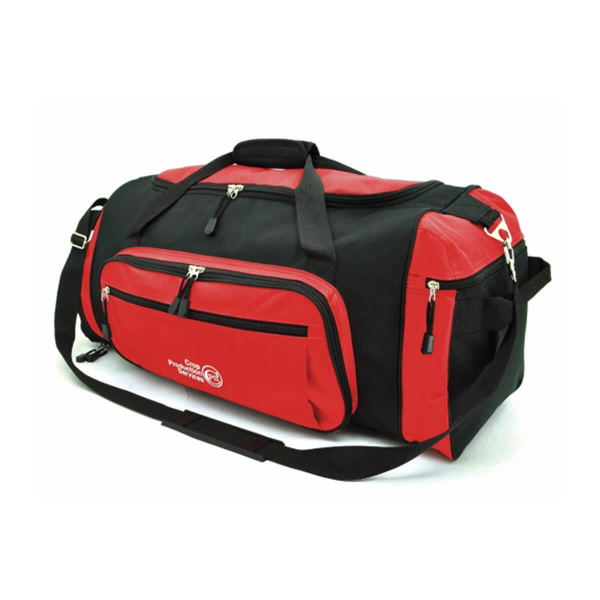 Soho Sports Bag-Red / Black