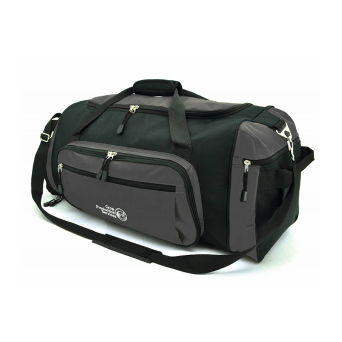 Soho Sports Bag-Charcoal / Black