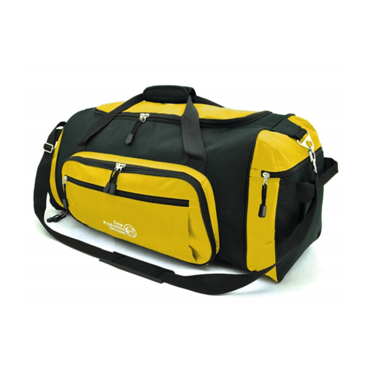 Soho Sports Bag-Gold / Black