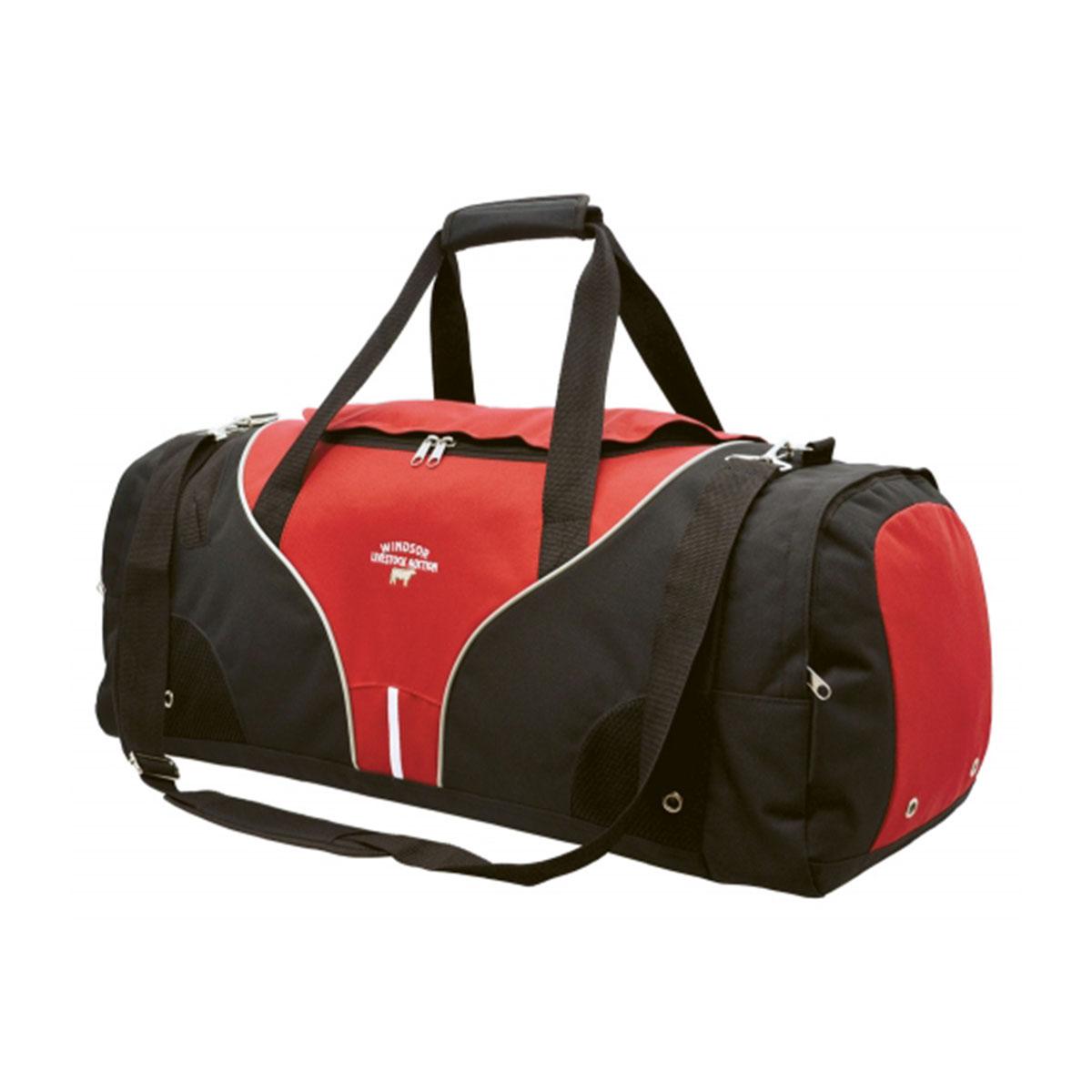 Inline Sports Bag-Red / White / Black