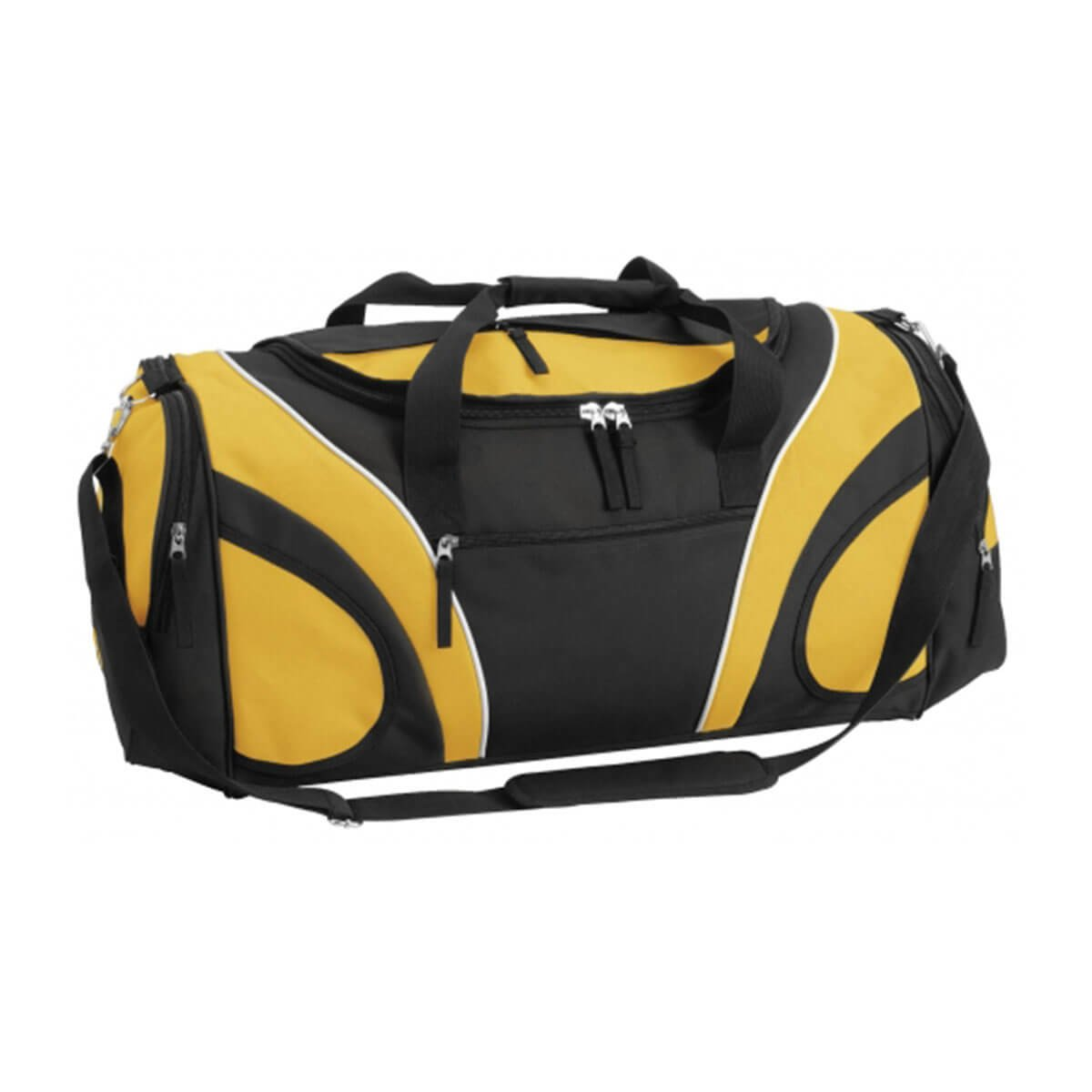 Fortress Sports Bag-Black / Gold