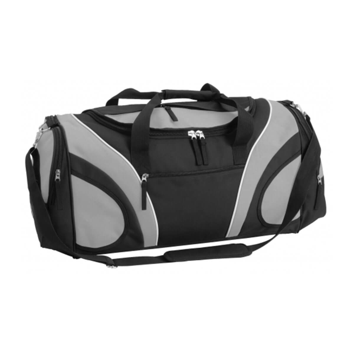 Fortress Sports Bag-Black / Stone