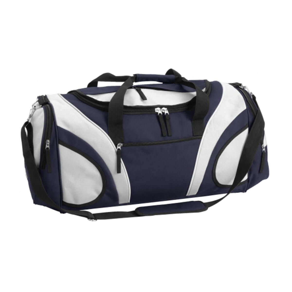 Fortress Sports Bag-Navy / White