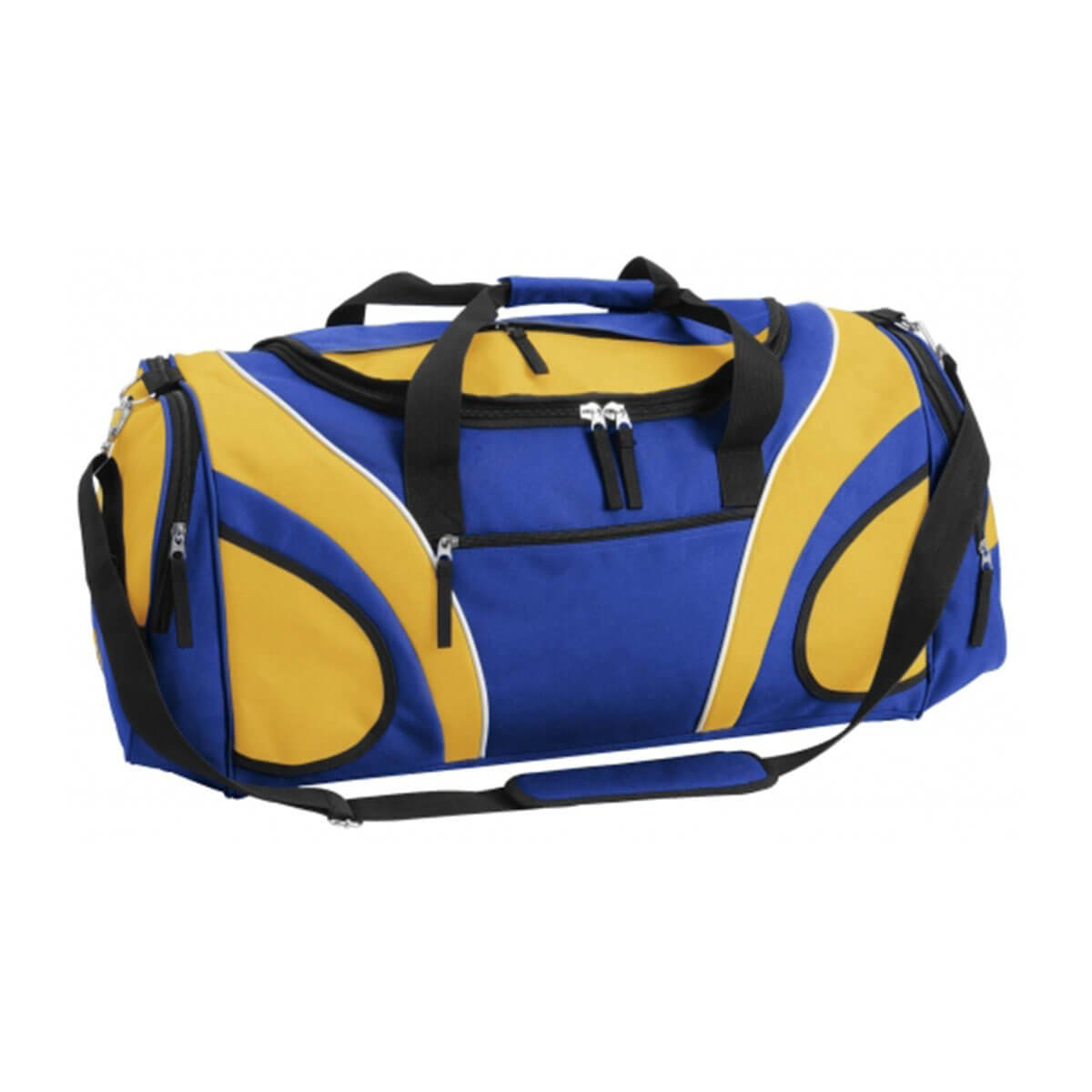 Fortress Sports Bag-Royal / Gold