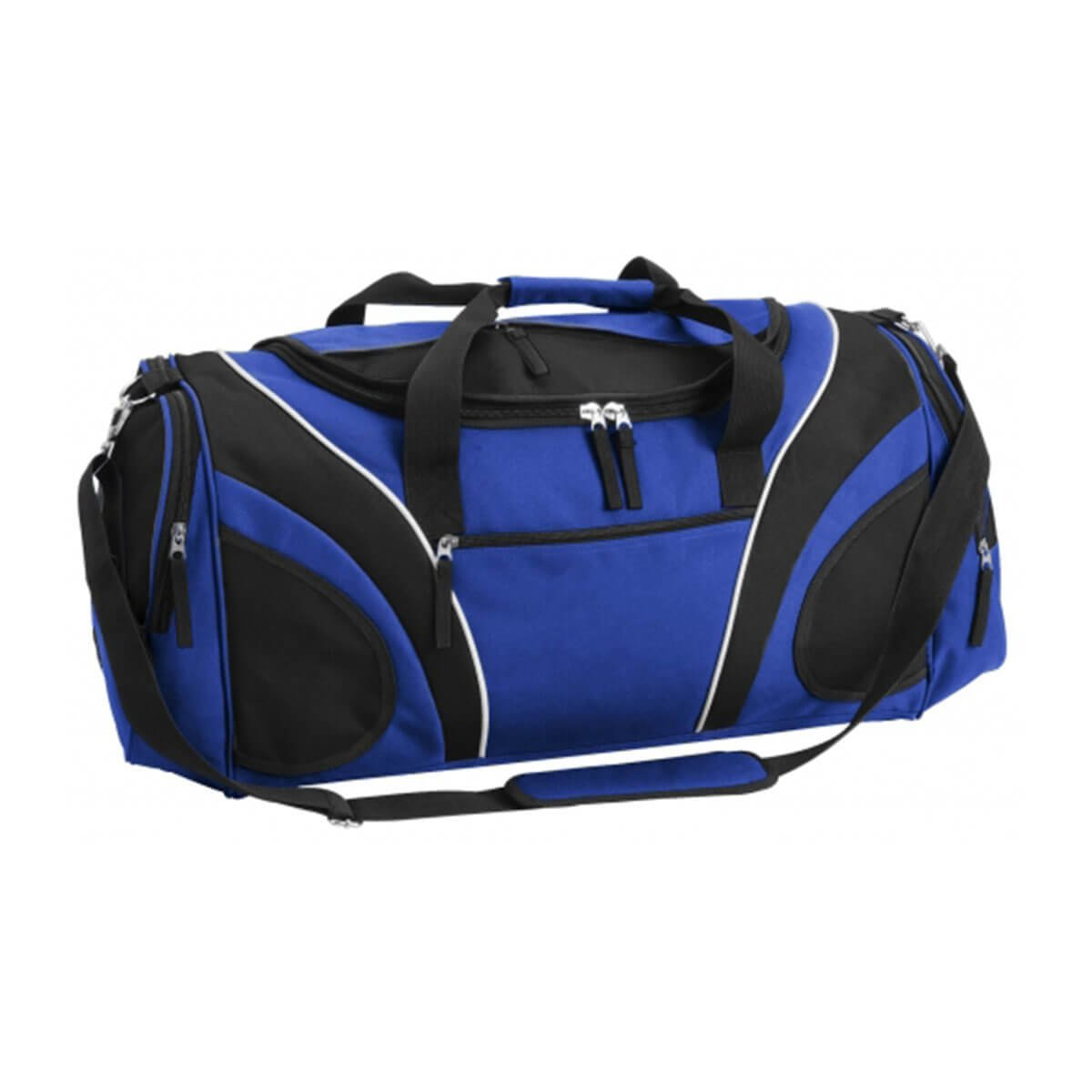 Fortress Sports Bag-Royal / Black