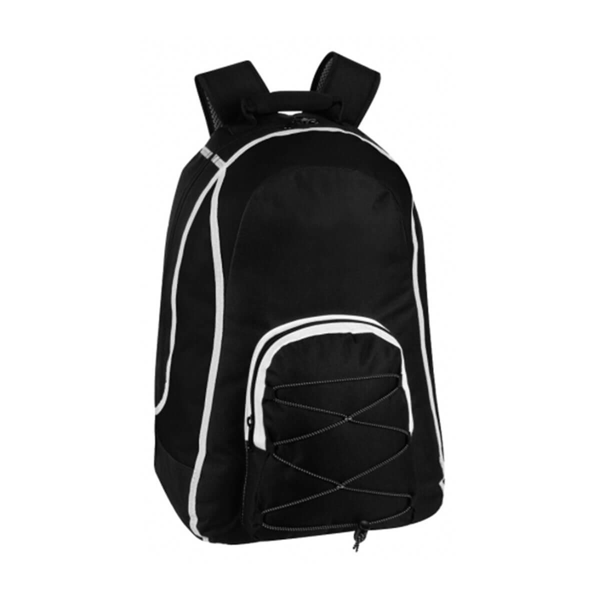 Virage Backpack-Black / White / Black