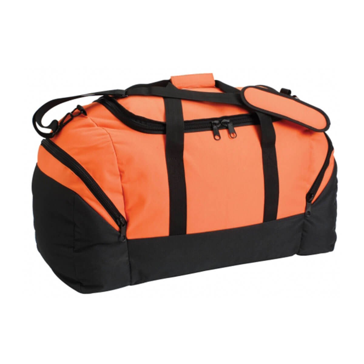 Team Sports Bag-Orange / Black