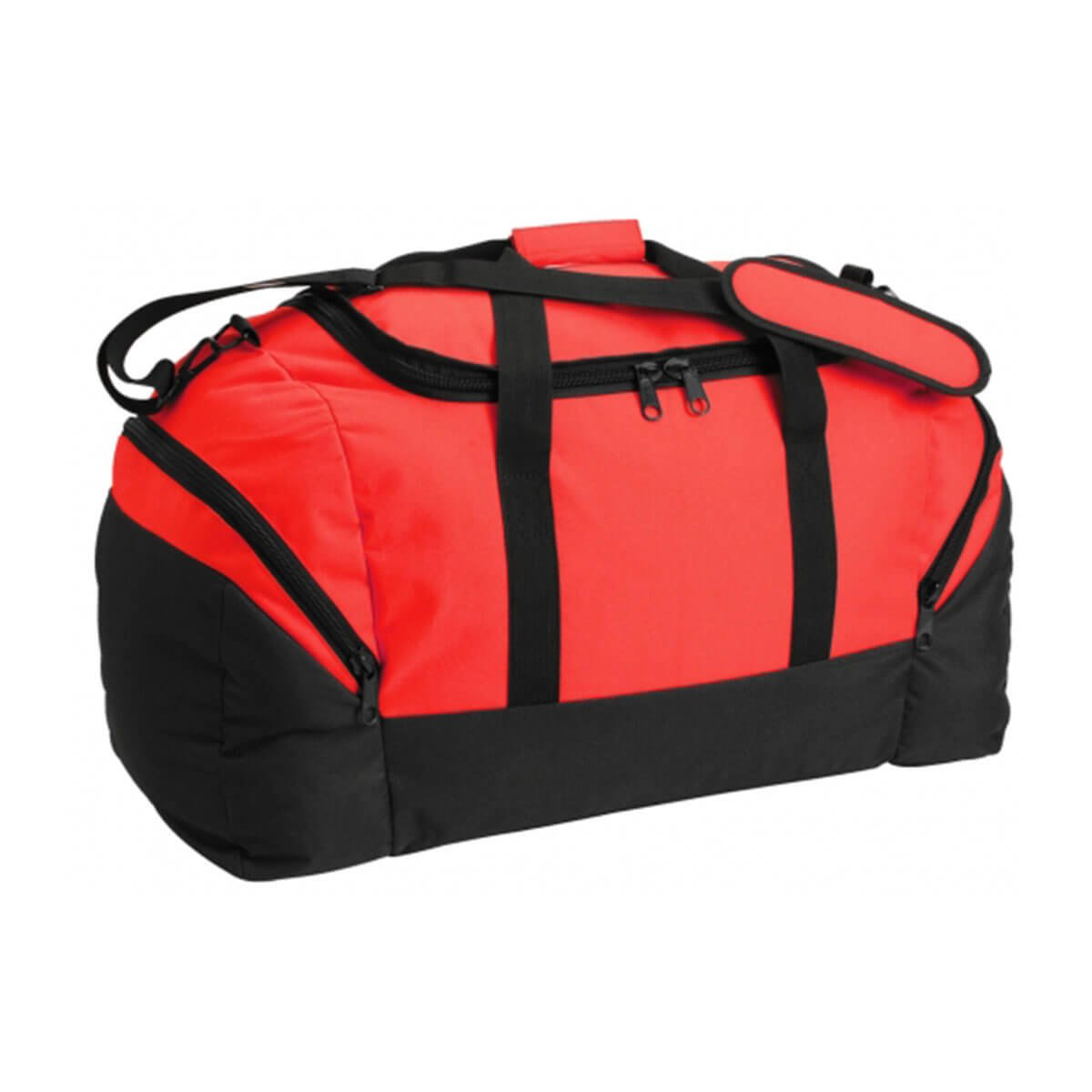 Team Sports Bag-Red / Black