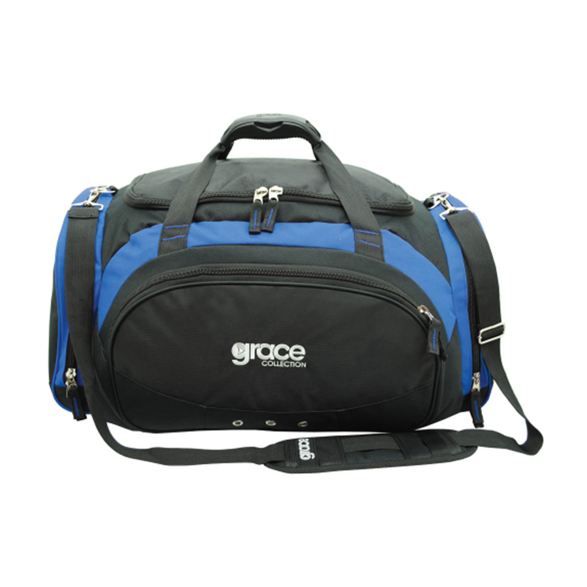 Orion Sports Bag-Black / Royal