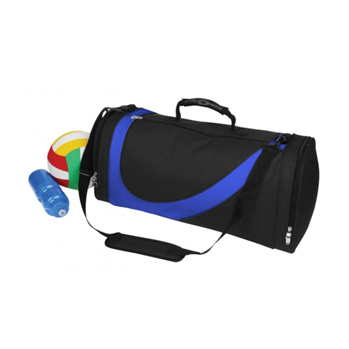 Sports Bag-Black / Royal