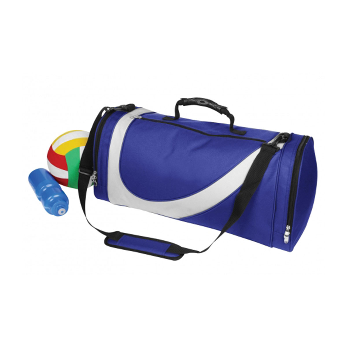 Sports Bag-Royal / White