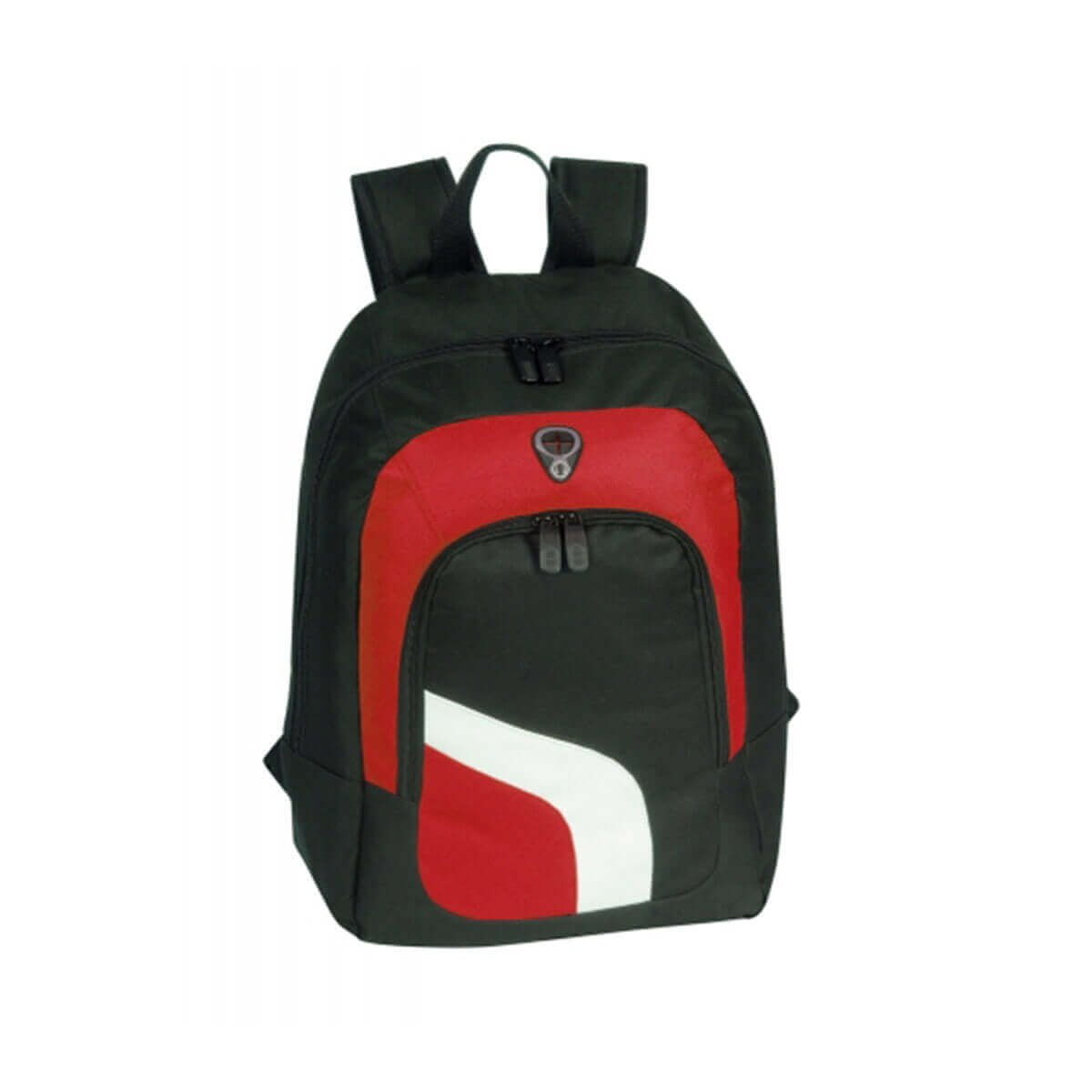 Backpack-Black / White / Red