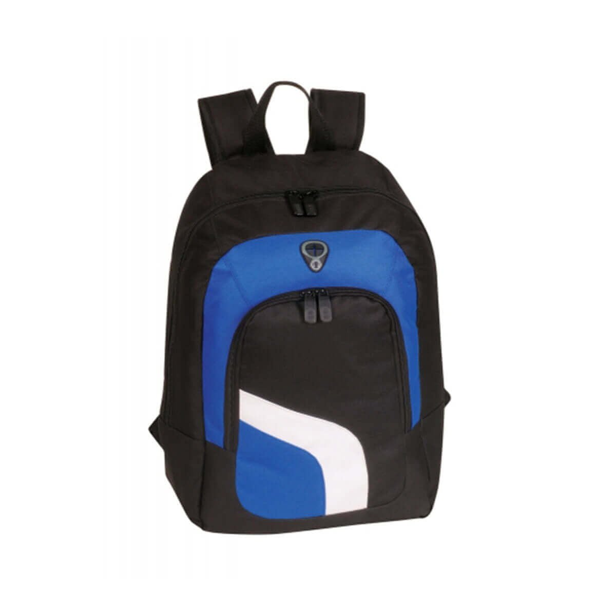 Backpack-Black / White / Royal