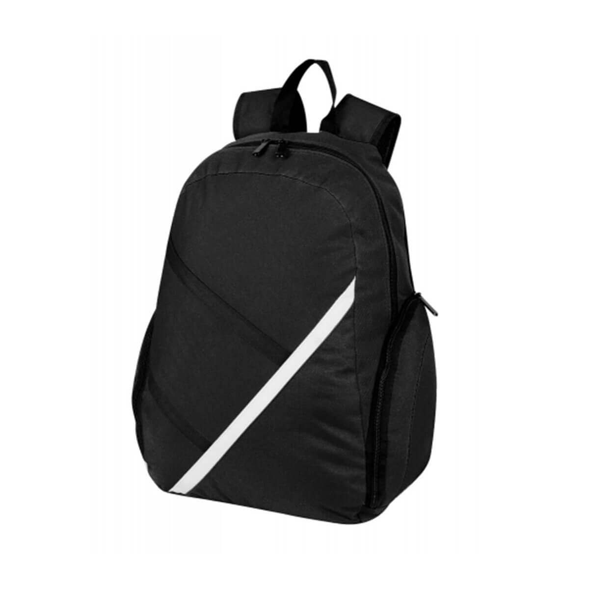 Precinct Backpack-Black / White / Black