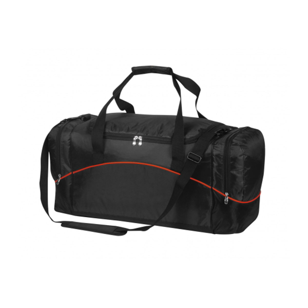 Victory Sports Bag-Black / Red