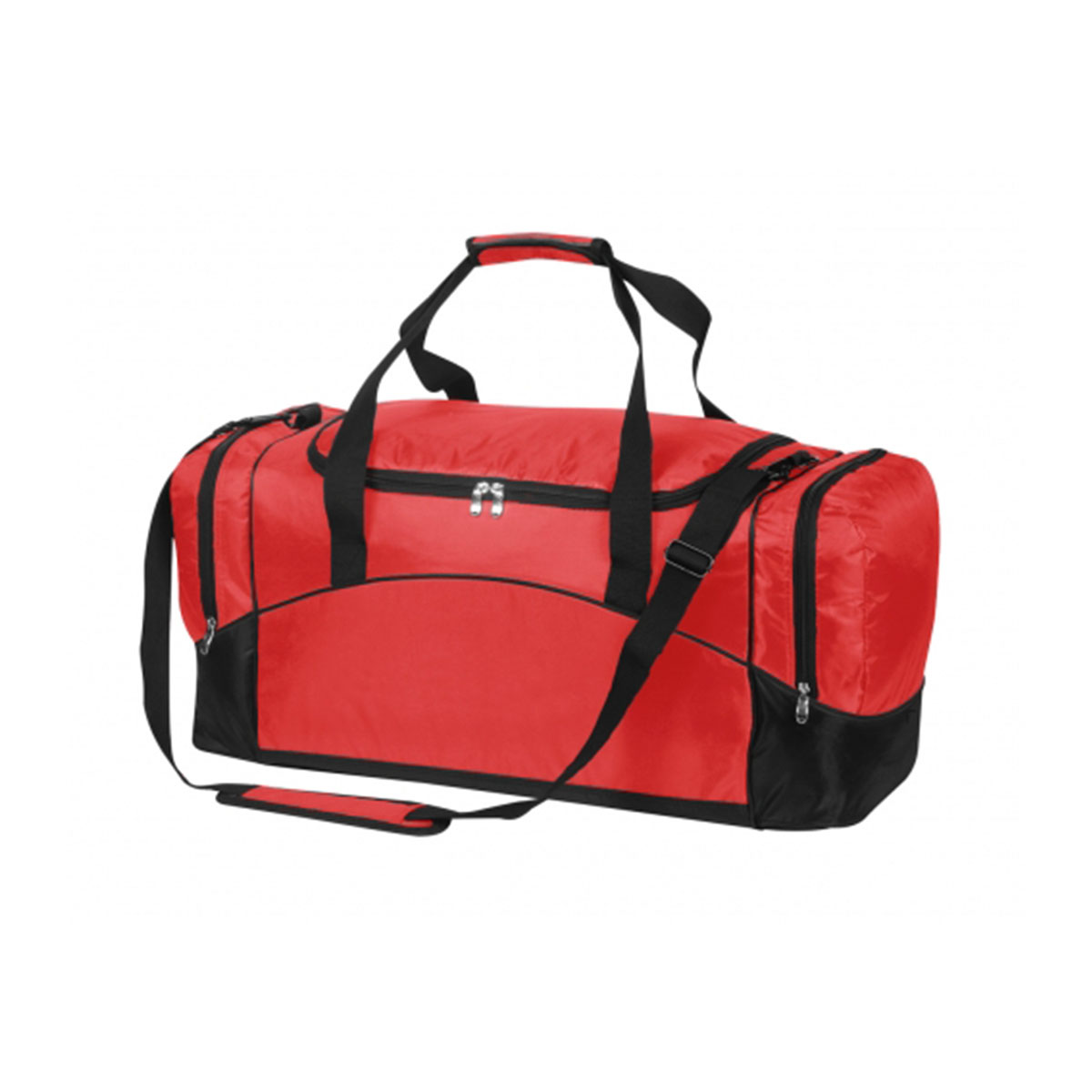 Victory Sports Bag-Red / Black