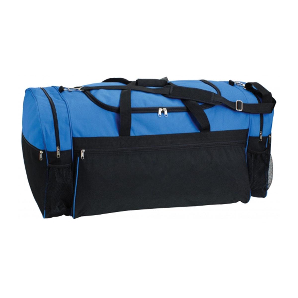 Large Sports Bag-Royal / Black