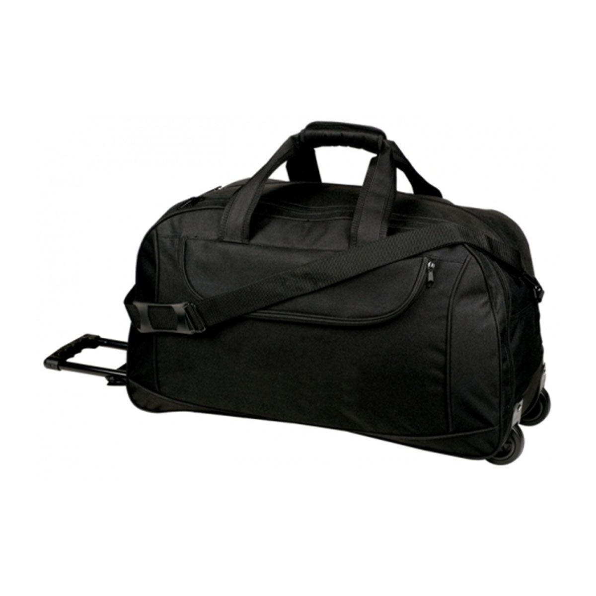 Trolly Travel Bag-Black