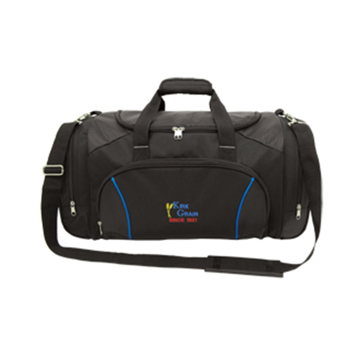 Coach Sports Bag-Black / Royal