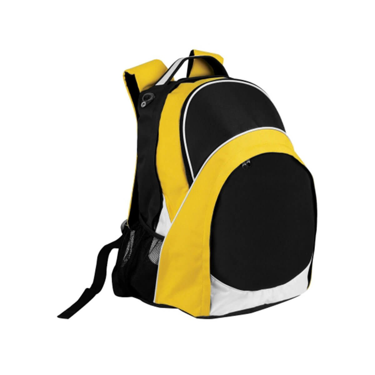 Harvey Backpack-Black / White / Gold