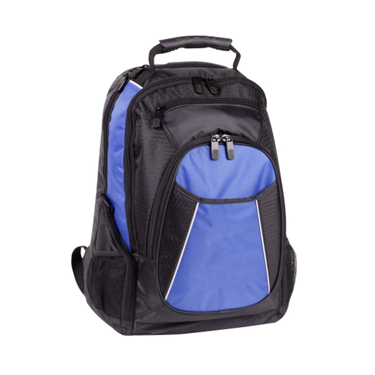 Backpack-Black / White / Royal