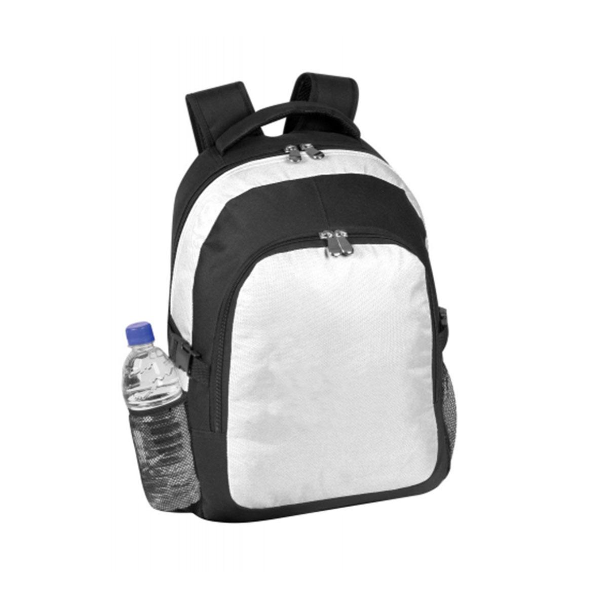 Backpack-White / Black