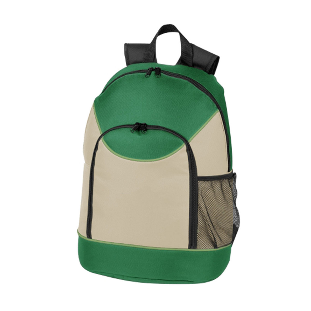 Backpack-Emerald / Lime / Natural