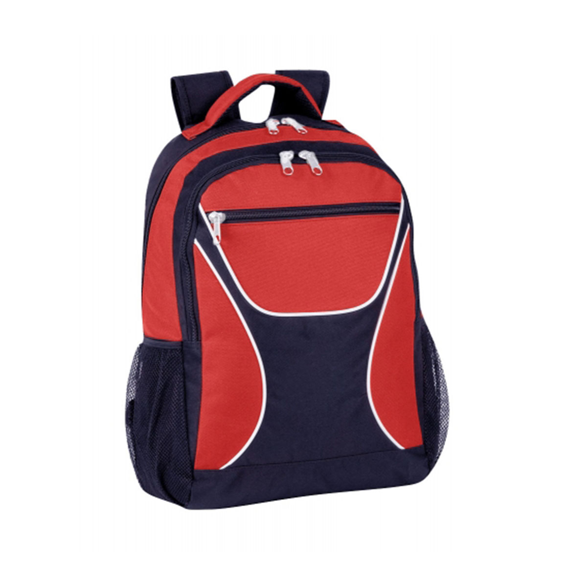 Backpack-Red / White / Navy