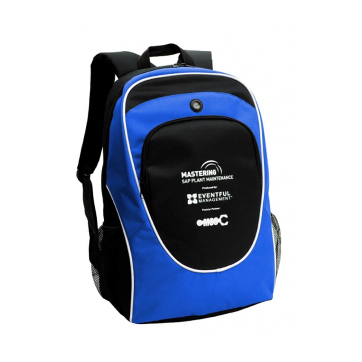 Gala Backpack-Black / White / Royal