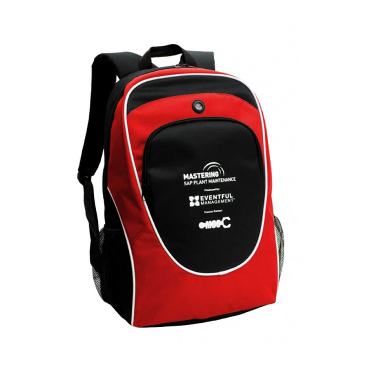 Gala Backpack-Black / White / Red