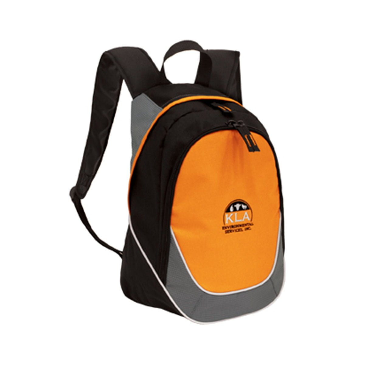 Mercury Backpack-Black / Orange / Grey