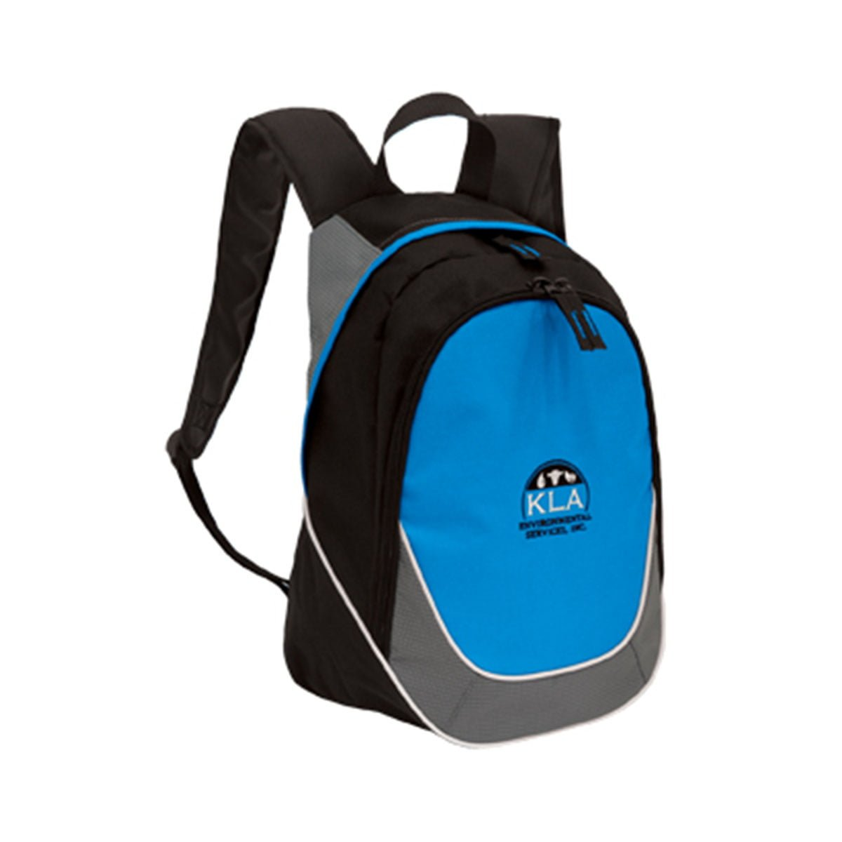 Mercury Backpack-Black / Aqua / Grey