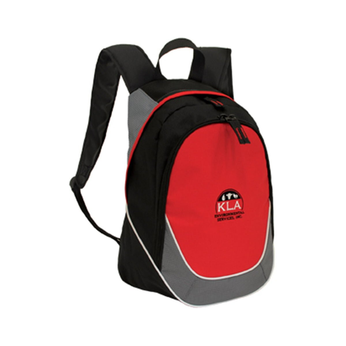 Mercury Backpack-Black / Red / Grey