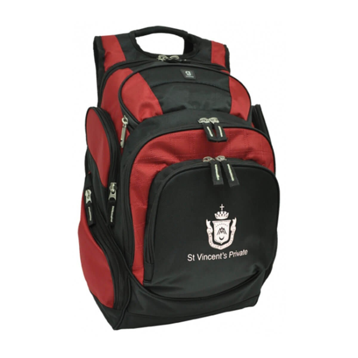 Rally Backpack-Black / Red