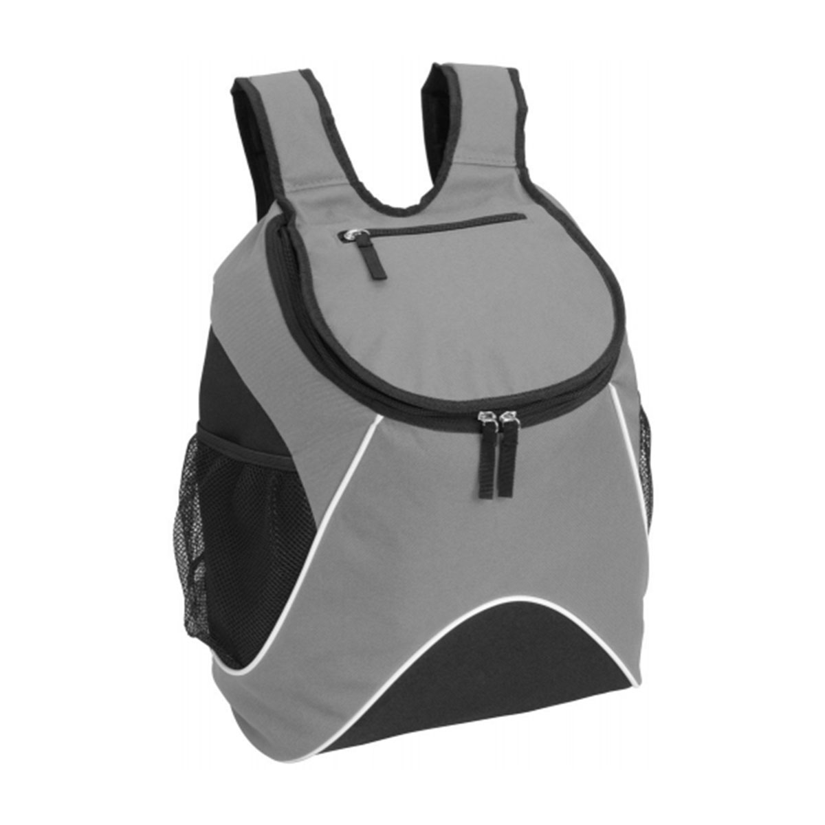 Carry Backpack-Grey / White / Black