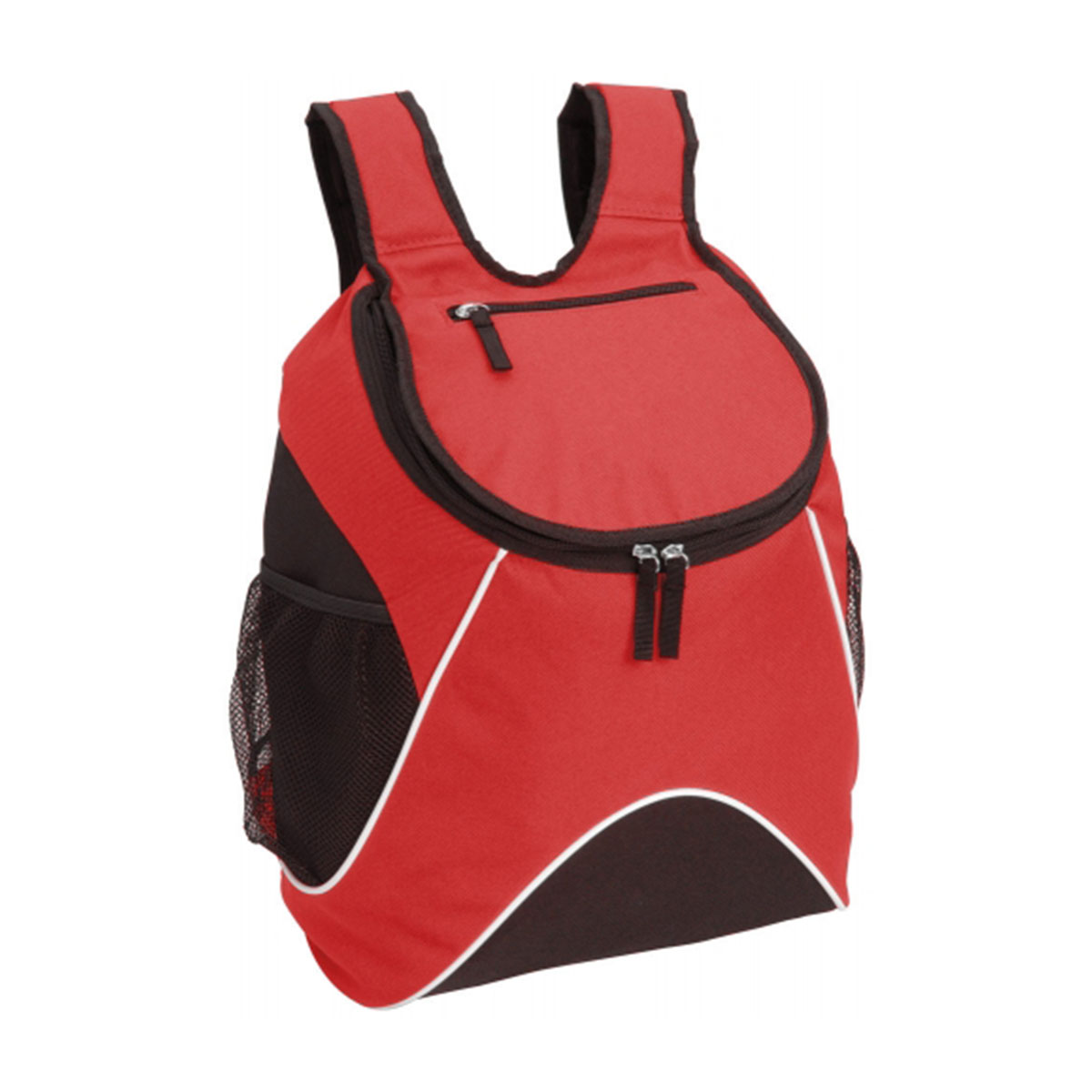 Carry Backpack-Red / White / Black