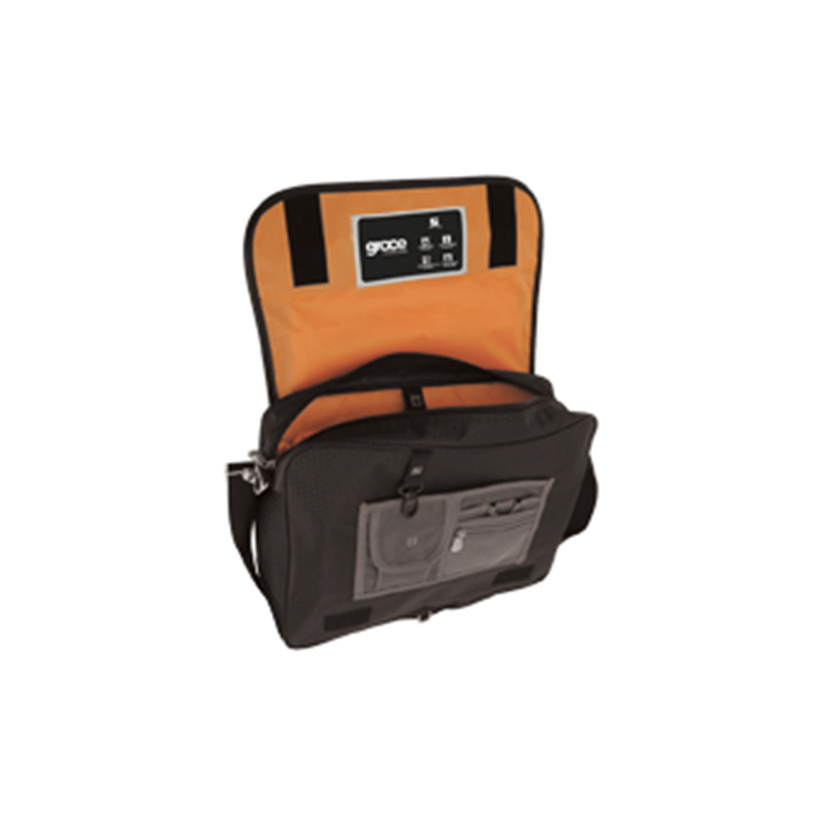 Synergy Conference Bag-Black / Orange