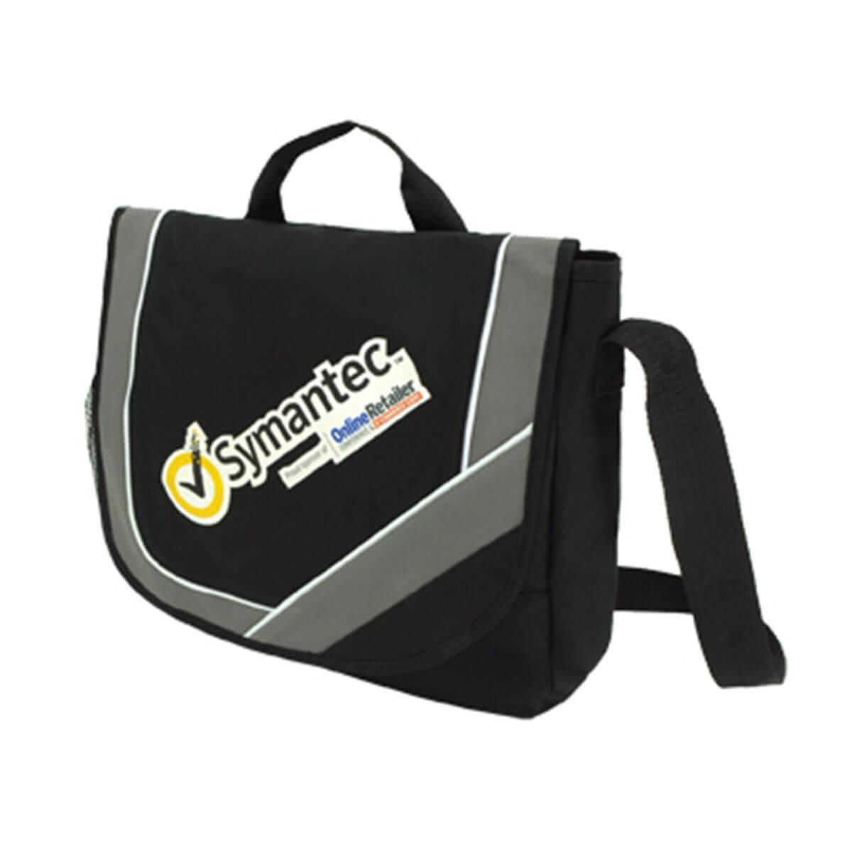 Calibre Conference Bag-Black / White / Dark Grey