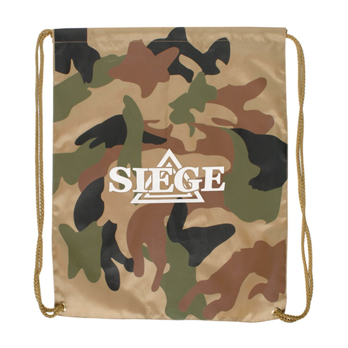 Camo Backsack-Army Green / Brown