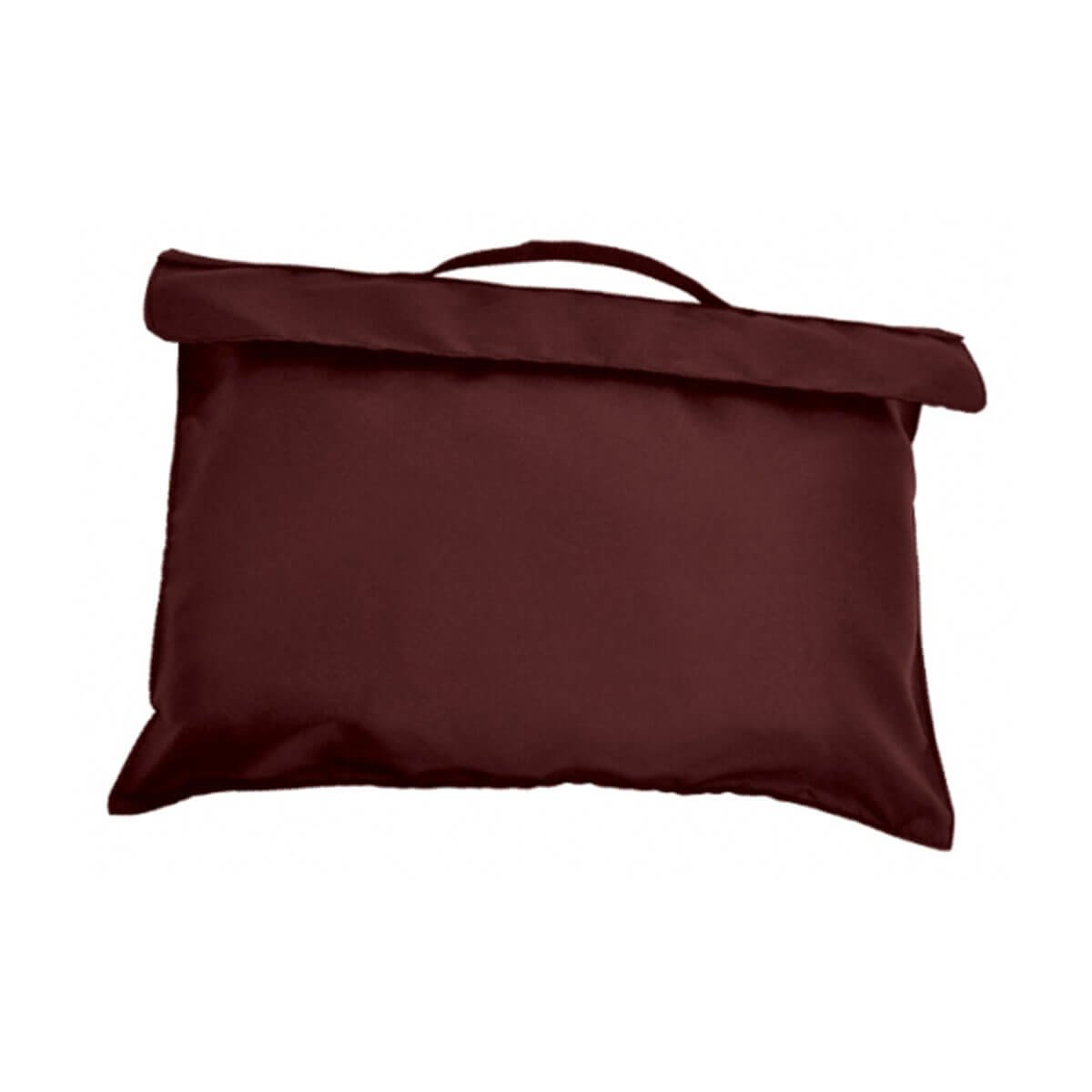 Bryce Document Bag-Maroon